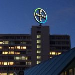 Bayer Sign - Trip to Berlin 2015