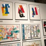 Alan Kitching - A Life in Letterpress Exhibition, Glasgow